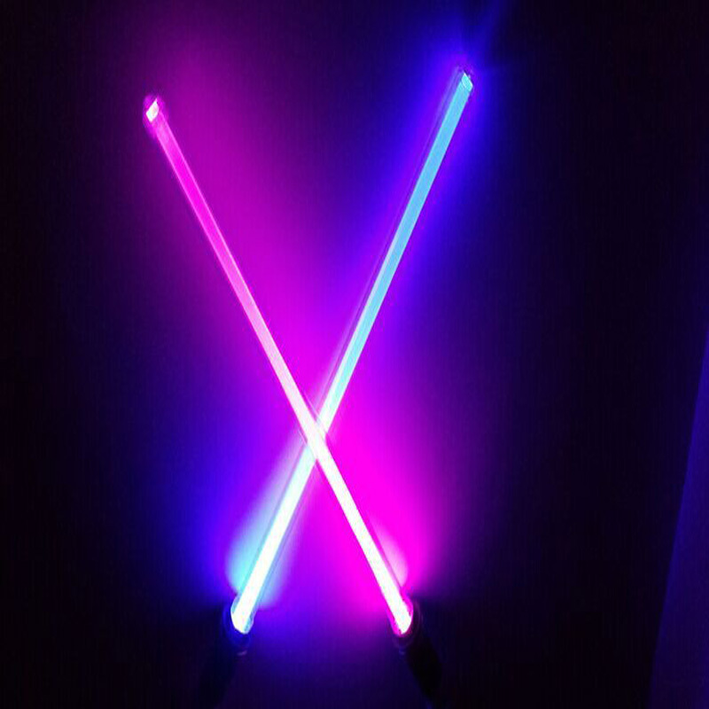 Star Wars Lightsaber 66CM Long Weapons Cosplay Sword with Light & Sounds PVC Action Figure Toys Christmas Gift for kids