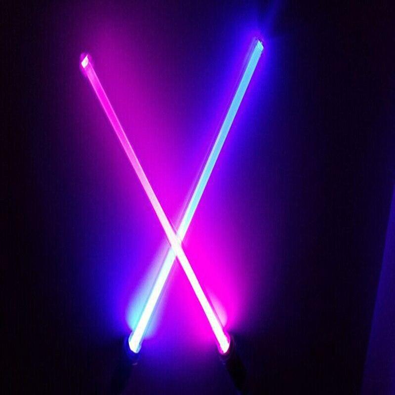 Star Wars Lightsaber 66cm långa vapen Cosplay Sword med ljus och ljud PVC Action Figur Leksaker Julklapp för barn