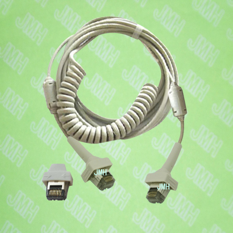 Compatible with GE MAX-Personal and MAC 8 System with AM4 or AM5 Acquisition module The 700044-204 ECG trunk cable.
