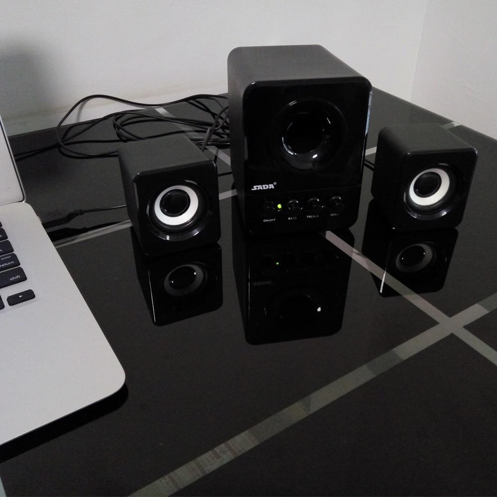 Usb Multimedia στερεοφωνικά ηχεία - Φορητό ήχο και βίντεο - Φωτογραφία 4