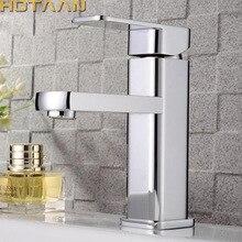 Gratis Verzending Wastafelmengkraan Koud En Warm Water Tap Torneira Da Bacia Enkel Handvat Badkamer Kraan Torneiras Doen Banheiro