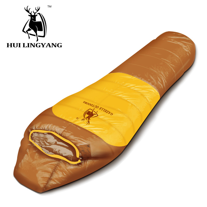 GAZELLE OUTDOORS apply Spring autumn winter Camping outdoor mummy sleeping bags gazelle outdoors зелёный цвет двойной