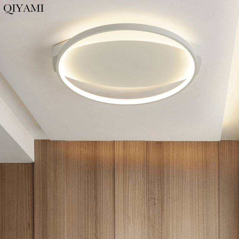 Square line round ceiling lamp modern minimalist for bedroom living room dining room kitchen with remote controSquare line round ceiling lamp modern minimalist for bedroom living room dining room kitchen with remote contro