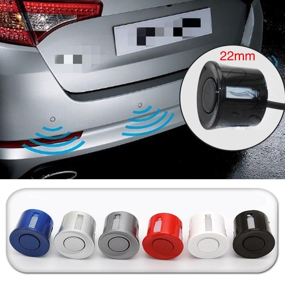 Image 4 - Five Colors Universal Car Temperature Reversing Radar With Four Sensors Reversing Radar Monitoring System LED Backlit Display-in Parking Sensors from Automobiles & Motorcycles
