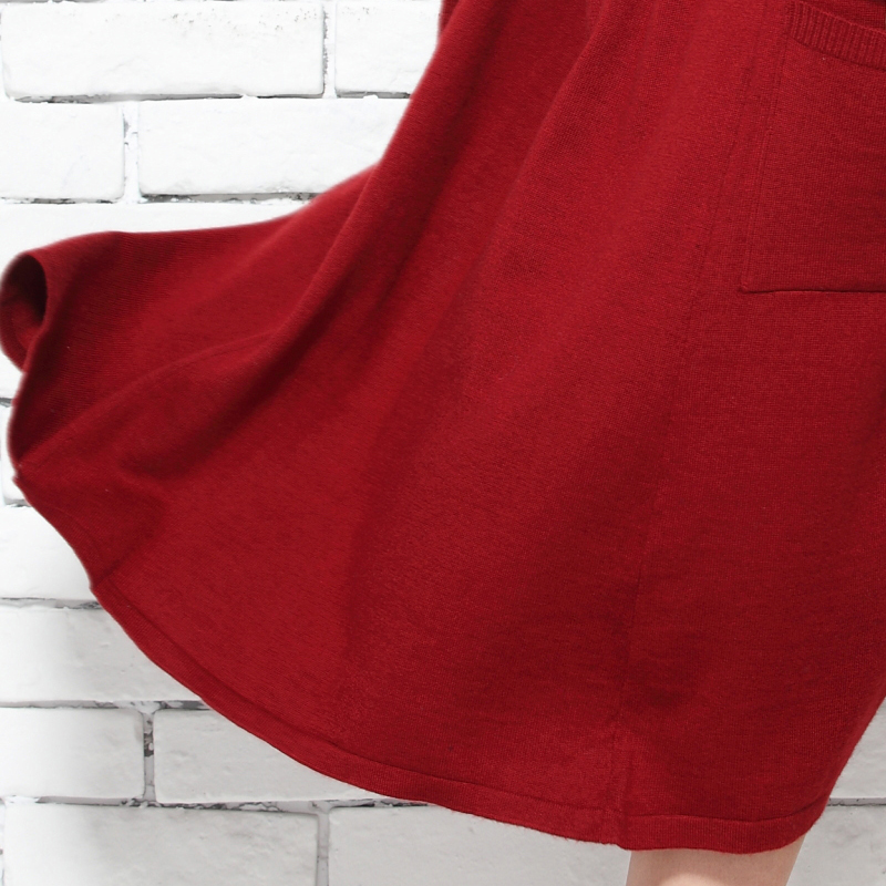 Abrigo Casual Maxi Gratis Nueva Sweaters Tops Punto Colores Cardigan 5 Envío rojo Moda Blusa Dulce Gris Largo Párrafo De Mujer Suéter wgUnSUWq