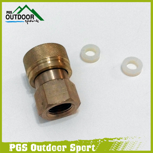 Image 2 - Paintball PCP Filling Charging Hose Quick Release Coupler Fitting 8 mm Female Socket Quick Disconnect M10*1.0-in Paintball Accessories from Sports & Entertainment