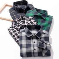 755f929e36d Осенне-зимние популярные мужские модные рубашки с длинными рукавами Camisa