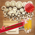 46 шт. кондитерские инструменты фондант торт инструменты формы торта плесень DIY 3D полезно для украшения торта инструменты кухня выпечки инструмент для тортов