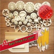 46 stücke Gebäck Werkzeuge Fondant-kuchenwerkzeuge Cookie Kuchenform Form DIY 3D Nützlich Kuchen Dekorieren Tools Küche Backen Werkzeug Für kuchen