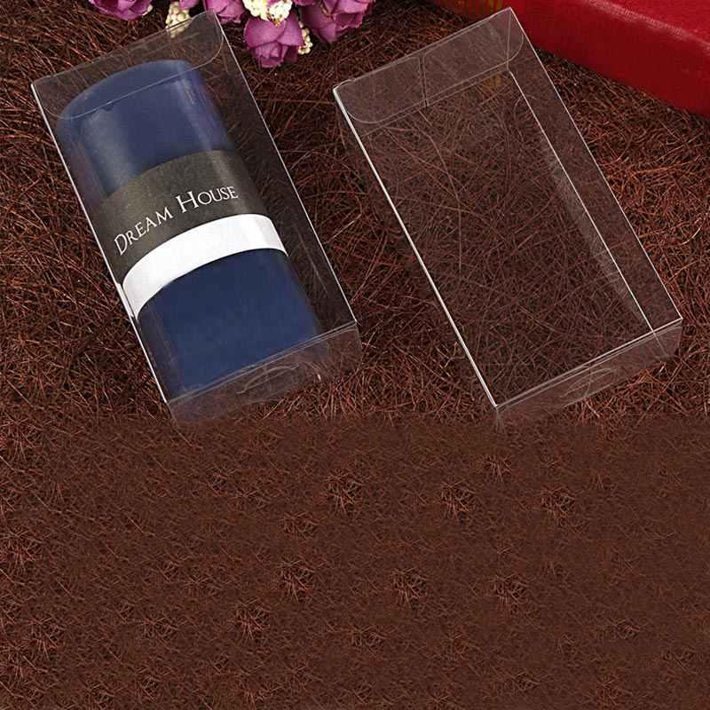 50 pcs 3 xWxH caixa de presente da jóia claro caixas de armazenamento caixa de plástico transparente caixa de pvc embalagem boxen de Exibição pvc para qua/natal