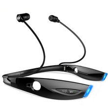цена на H1 Stereo Sport Bluetooth Headset Wireless Foldable Headphone Luminous LED Waterproof Earphone For Phone With Microphone