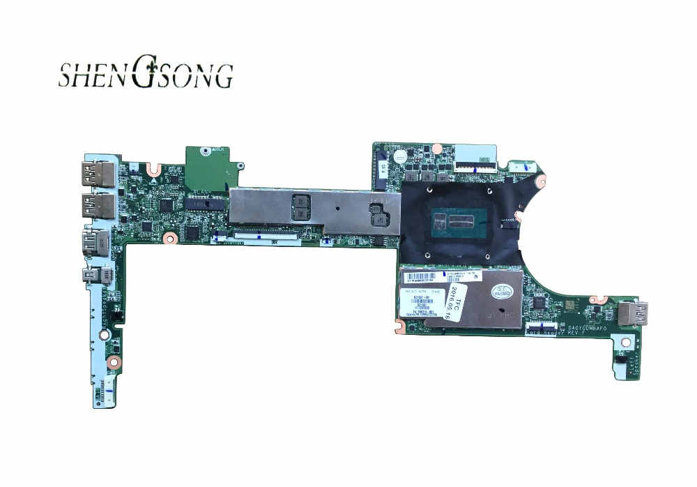 808443-501 Free Shipping FOR HP Spectre 13-4103DX PR0 X360 G1 Laptop motherboard 808443-601 DA0Y0DMBAF0 I5-5300U/4G 100% Tested 744010 601 744010 501 for hp 640 g1 650 g1 laptop motherboard 744010 001 6050a2566402 mb a04 qm87 hd8750m mainboard 100% tested