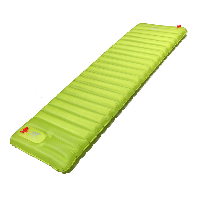 PrimaLoft ultralight outdoor sleeping pad moistureproof inflatable air mat with TPU flim camping air tube bed
