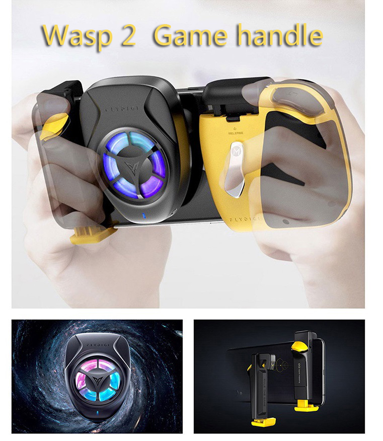 Flydigi Wasp2 pubg mobile game controller mobile Bluetooth gamepad bee sting trigger for Android/ios syste|Gamepads| - AliExpress