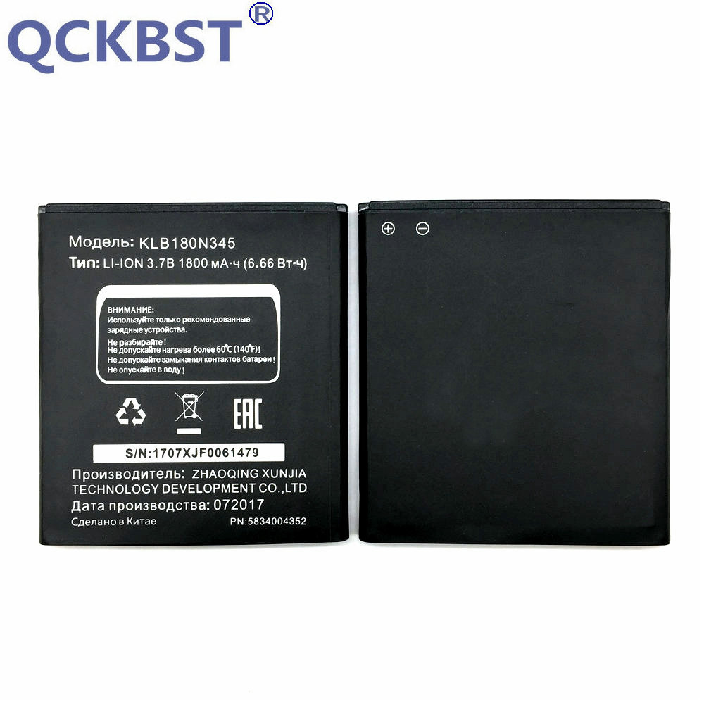 1pcs 100% High Quality KLB180N345 Battery For MTC Smart Sprint 4G Mobile phone image
