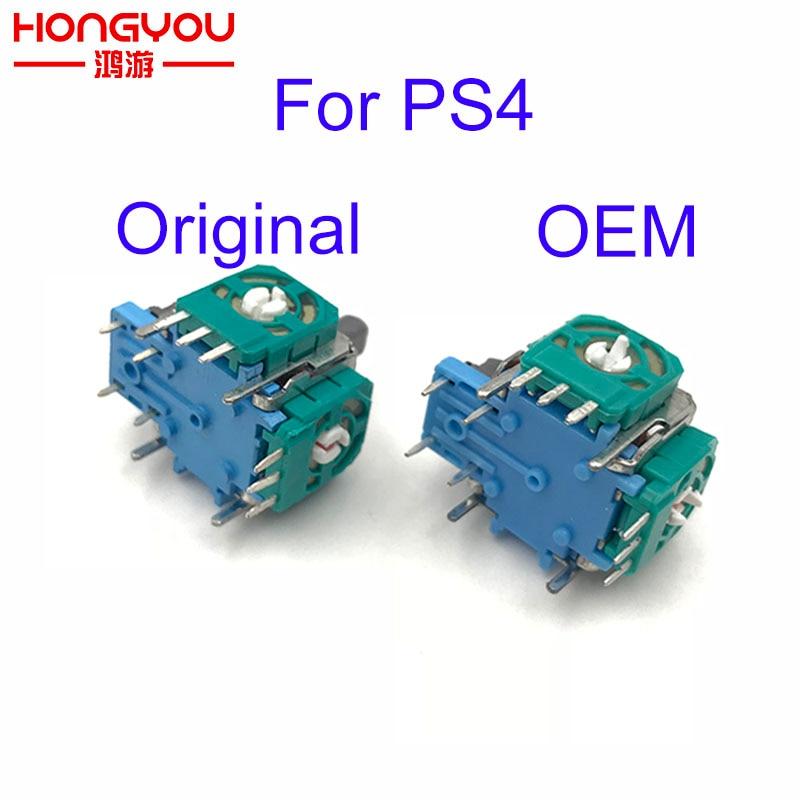 100pcs 3D Analog Axis 3D Joystick Module Potentiometer For Playstation 4 PS4 Controller Repair Color Random
