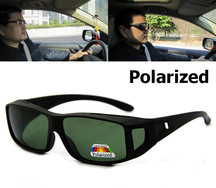 JackJad Nuevos Hombres Lentes Polarizados Conducción Pesca Gafas de Sol Cubierta Para Gafas de Miopía POLAROID Gafas de Sol Gafas de Sol Masculino
