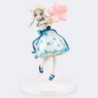 ZXZ SEXY Girl Ação 18 cm Figura Anime Anohana Honma Meiko Menma Maid Ver. PVC Coleção Modelo Boneca Melhor Presente de Brinquedo do Passatempo