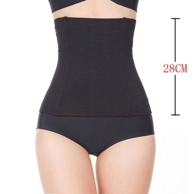 9b99210e9d6 Womens No Closure Waist Trainer Corset Cincher Boned Seamless Tummy Control  Belt Shapewear Slimmimg Workout Body Shaper