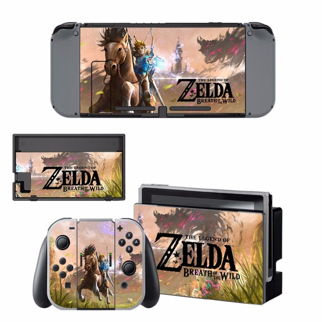 Nintend Switch Vinyl Skins Sticker For Nintendo Switch Console and Controller Skin Set - For The Legend of Zelda 5