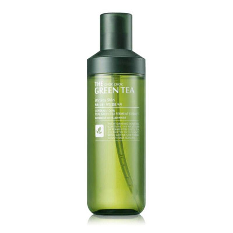 Meilleur Corée Cosmétiques Le Chok Chok Vert Thé Liquide Peau 180 ml Soins de La Peau De Levage Visage De Toner Hydratant Anti-rides Anti-Vieillissement