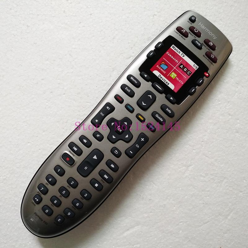 Silver 915-000159 Logitech Harmony 650 Remote Control