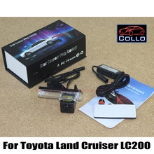 Newest Laser Tail Fog Lights For Toyota Land Cruiser LC 200 LC200 2008 2015 12V Car