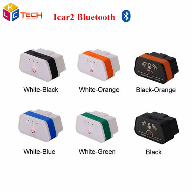 Whole-sales Vgate iCar2 Bluetooth OBD2 OBDII New Level ELM327 Bluetooth Auto Diagnostic Scanner Tool Support Android