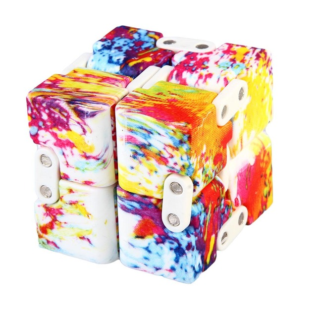 Мини Непоседа куб виниловые игрушки стол палец игрушки Squeeze Fun снятие стресса Качество антистресс Cube 3 вида стилей