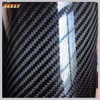 Jeely Plain/Twill Epoxy Coating 3K 200gsm 42% Prepreg carbon fiber fabric for sale 20m2/roll