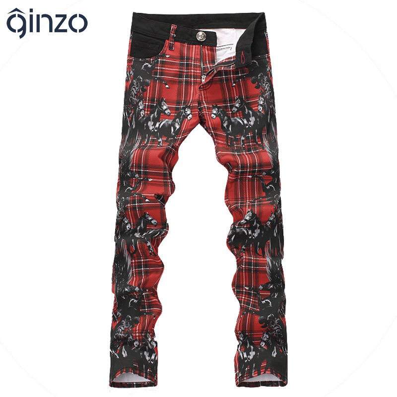 Popular Mens Red Plaid Pants-Buy Cheap Mens Red Plaid Pants lots ...