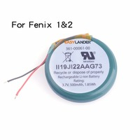 Easylander Replacement li Polymer Battery For Garmin fenix 1 fenix 2 fenix 3 fenix 5 GPS sports watch F1 F2 F3 F5 3.7V 3.8V