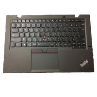 Original for Lenovo ThinkPad X1 carbon Palmrest with fingerprint and touch pad genuine x1 carbon keyboard bezel upper case co