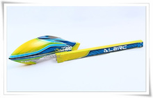 Alzrc Diable 480 Rapide en fiber de Verre Couvert B Alzrc D48FCYB ALZrc 450 RC Hélicoptère t-REX 450 Pièces De Rechange FreeTrack gratuite