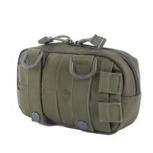 купить EDC Tool Belt Bag Organizer Waist Pack Accessory Hunting Bag Tactical Molle Waist Bags Utility Map Admin Pouch по цене 333.95 рублей
