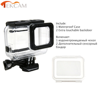 Tekcam Waterproof Housing Case 60M Diving Skeletons Frame For Gopro Hero 6 Hero 5 With Touchable