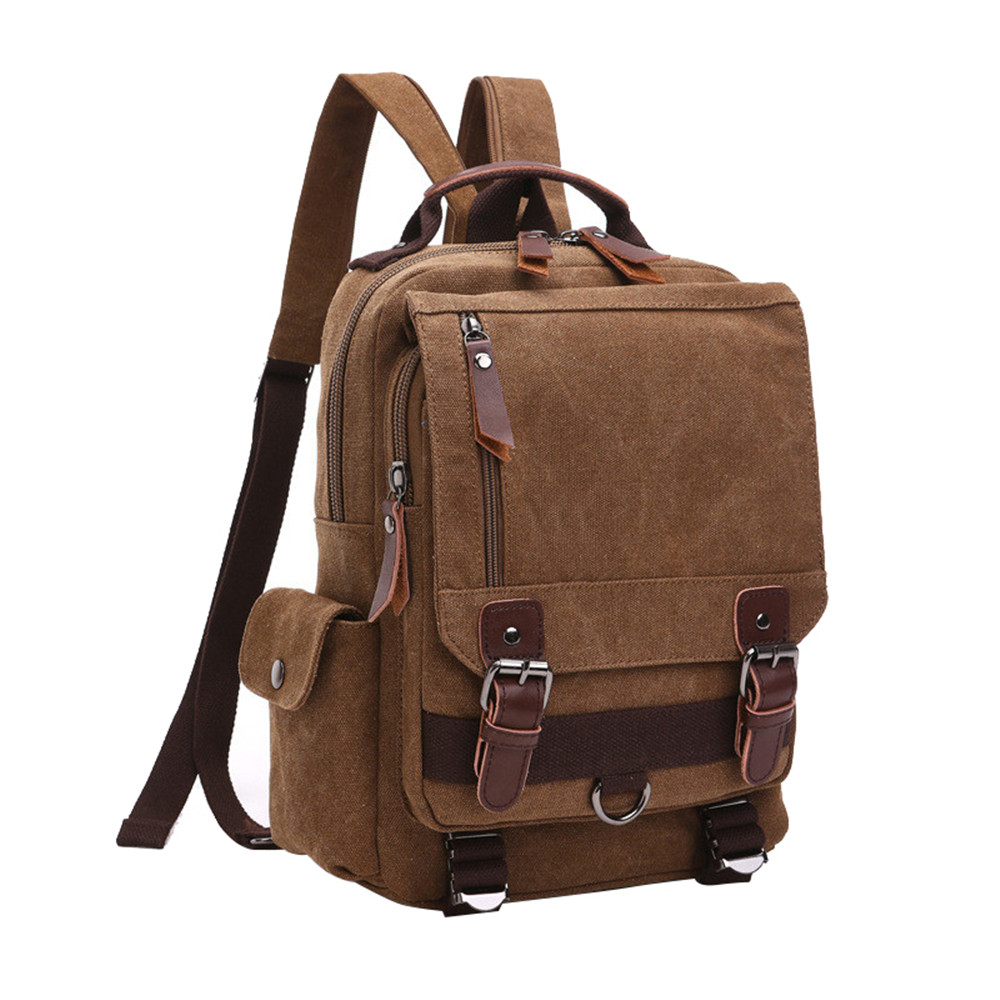 Travel Bag Large Capacity Men backpack Canvas Weekend Bags Multifunctional Travel Bags best sellers canvas backpack classic fashion women s small fresh school bag travel bags large capacity travel backpack bag