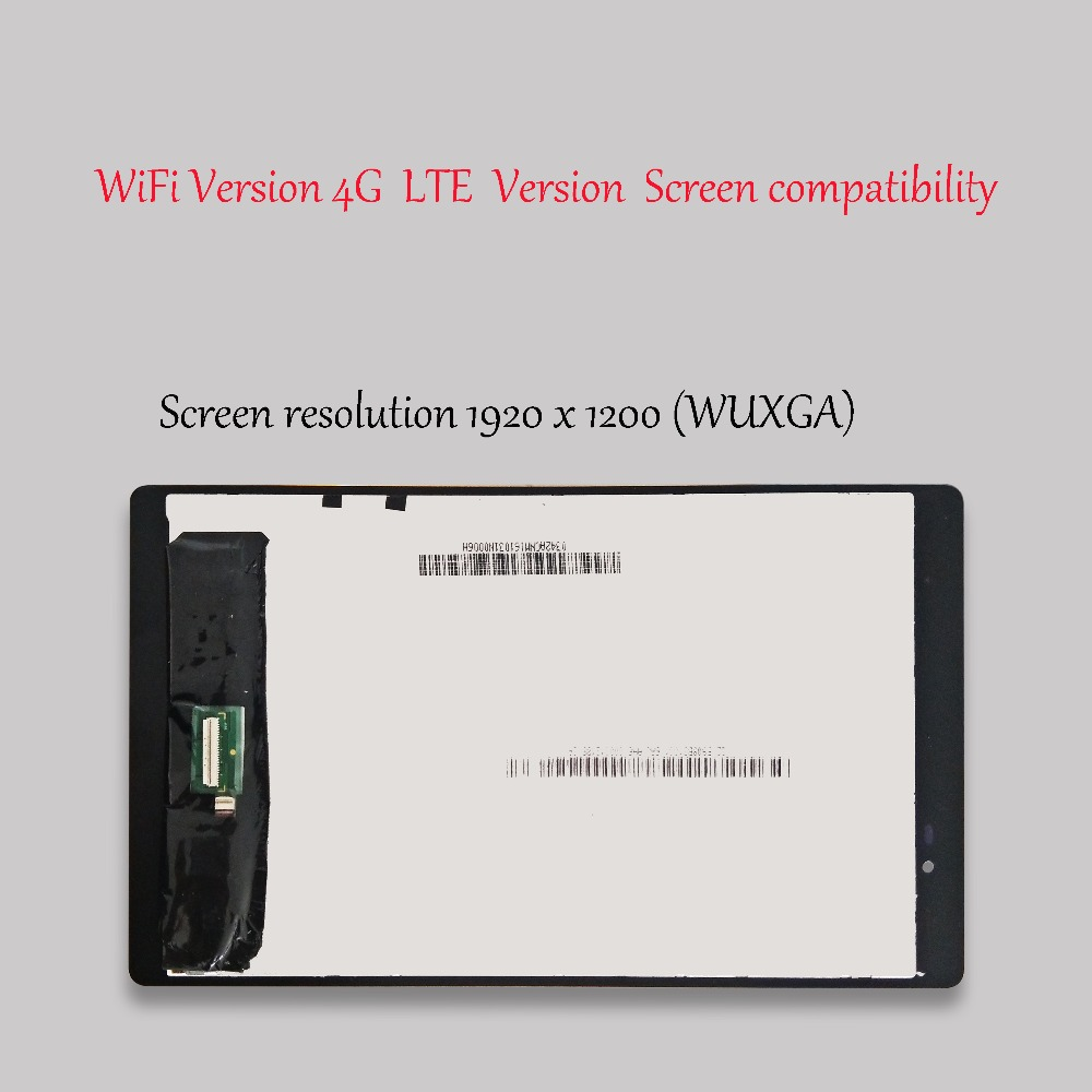 8 icnh para Lenovo Tab 3 Plus 8703X16 GB TB-8703X pantalla LCD de pantalla táctil digitalizador Asamblea - 6