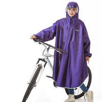 Outdoor Bicycle Raincoat Hooded Bike Men Raincoat Women Poncho Impermeable Suit Bicicleta Capa De Chuva Cape Rain Cover LZO238