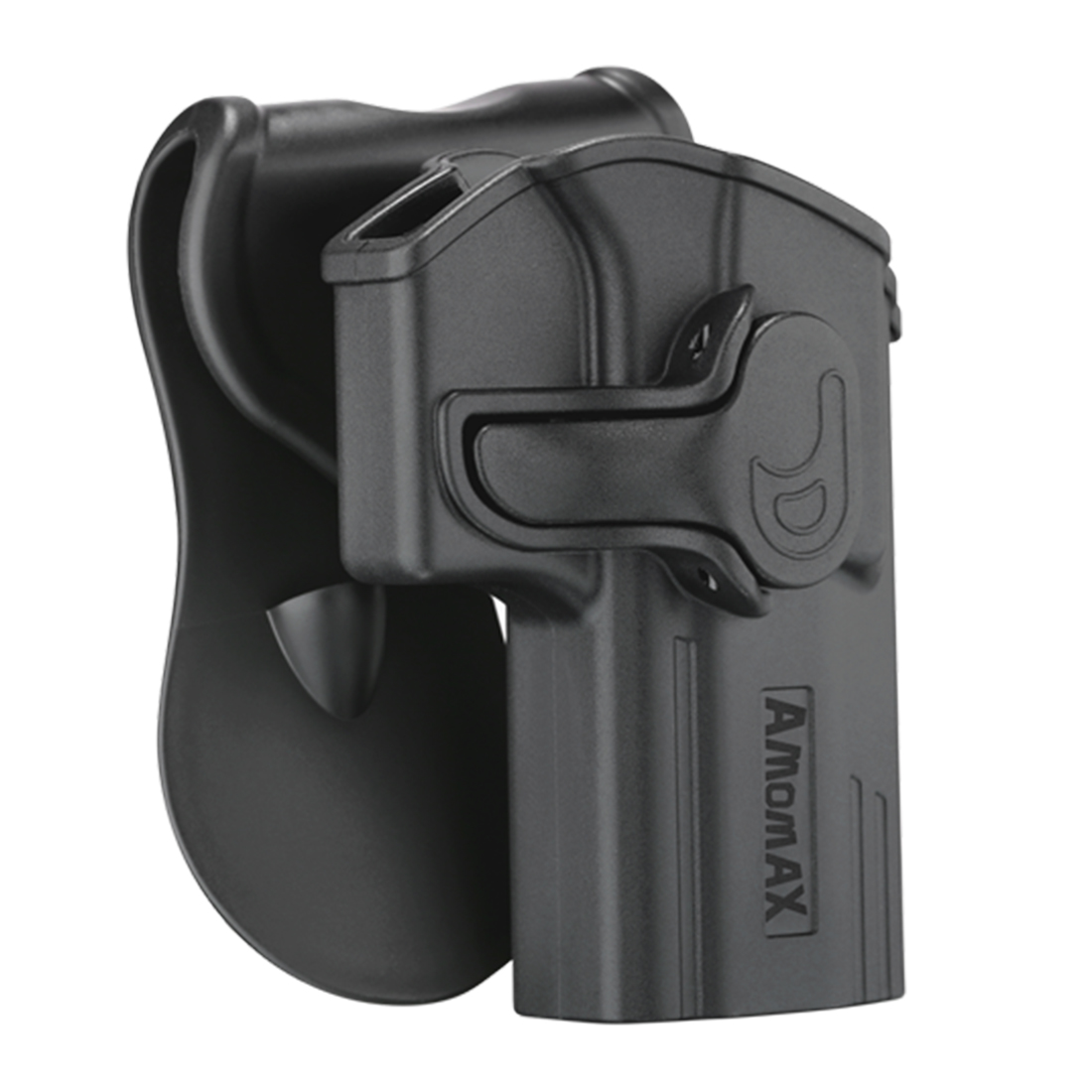 Amomax Adjustable Tactical Holster For Jericho 941 - Right-handed Black(Standard Only With Waist Plate, No Other Accessories)
