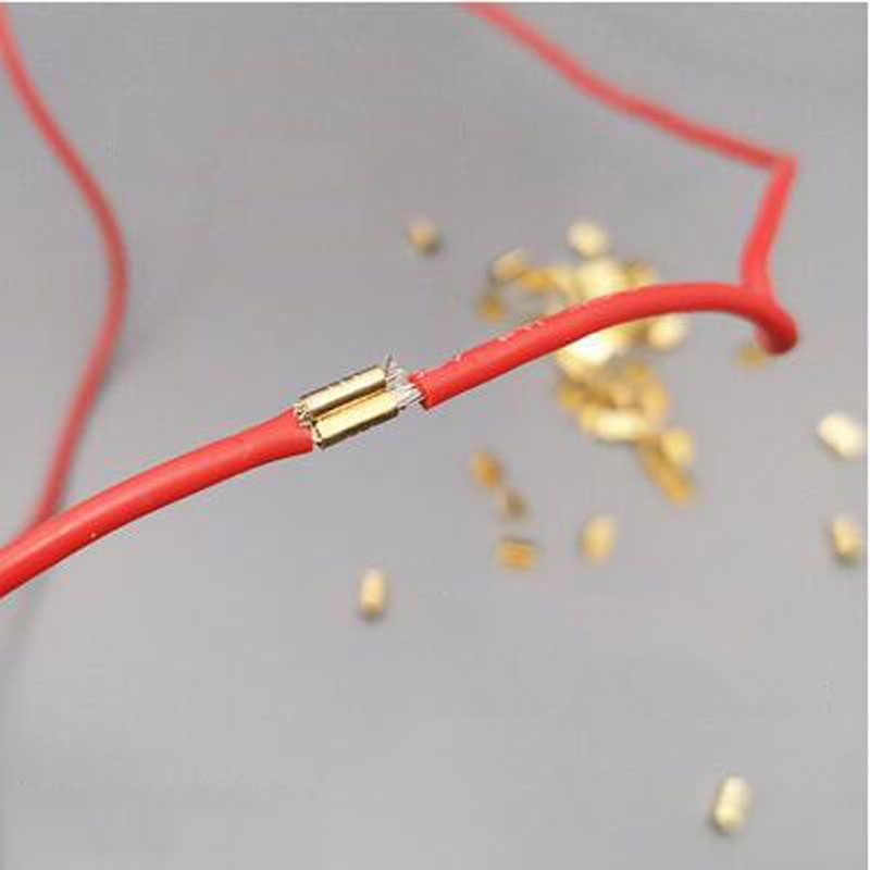 20 шт пряжка с язычком 454D обжимной инструмент провода клеммный блок наконечники холодной штамповки U-образный провод Пряжка Медь Пряжка Termin