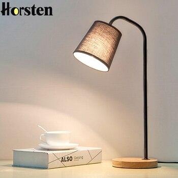 Tafellamp Table Lamps For Living Room Abajur Simple Led Wood Table Lamps Minimalism Oak Bedside Lamp Lights Deco Study Reading