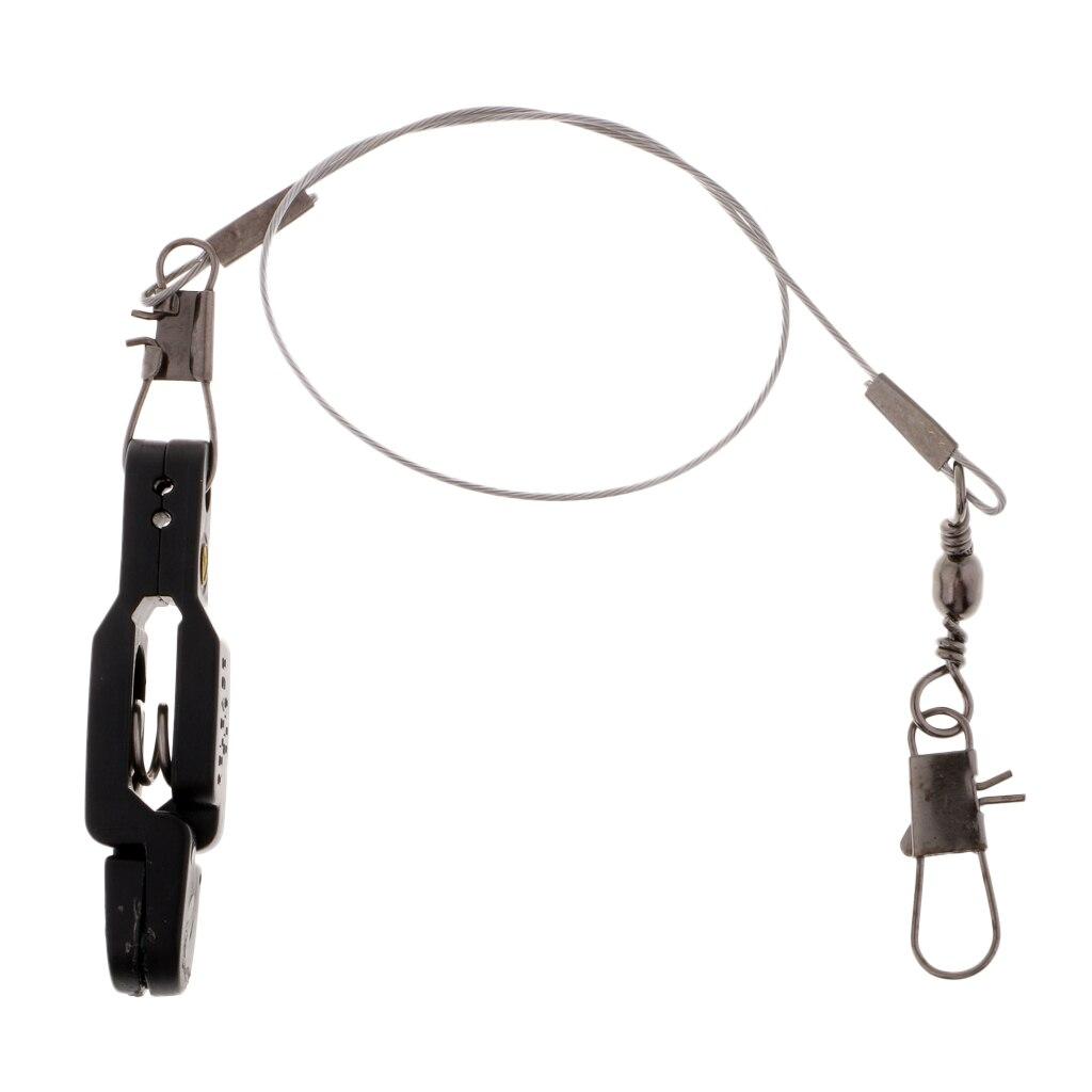 Image 4 - Snap release clip para peso placa plaina outrigger downrigger com  líder snap linha ajustável liberação de tensão pesadaFerramentas de  pesca