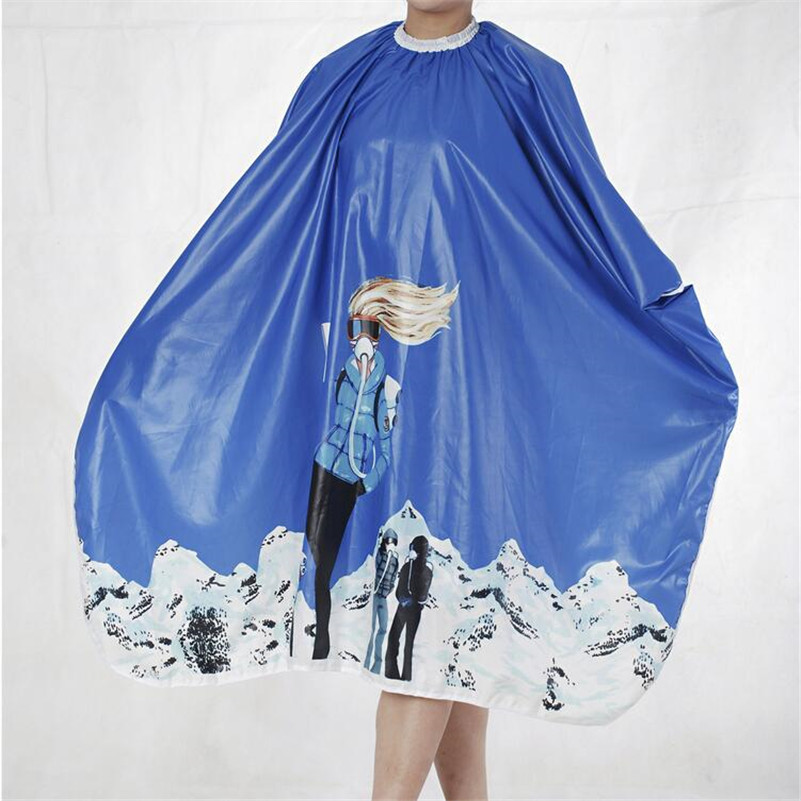 Salon Barber Gown Cape 1PCS Adult Hairdressing Hairdresser Hair Cutting Aprons Cloth Hair Accessories Tools 7