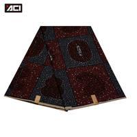 ACI African Garment Fabric Nigeria Wax Prints Holland Pattern 6 Yards Wholesale Ankara Fabric Wax Hollandais Veritable Super ACI