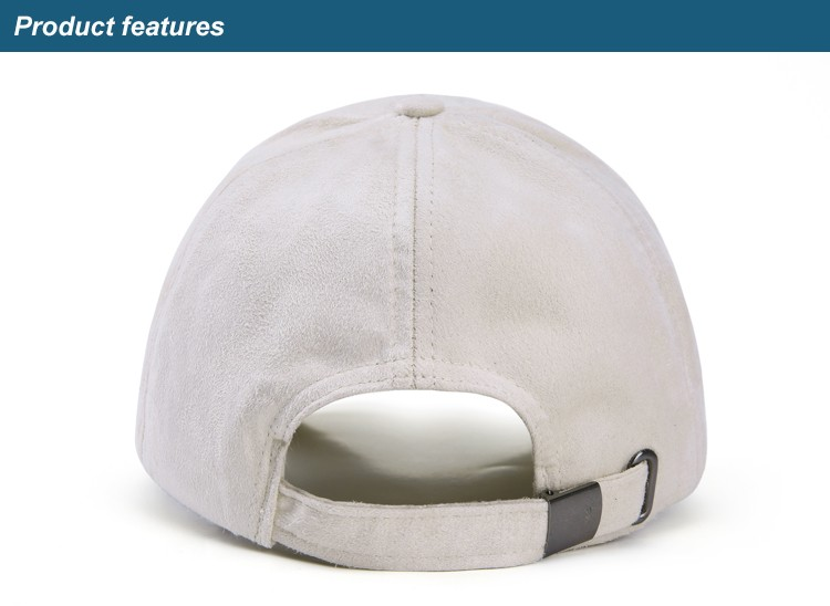 WEARZONE Unisex Soft Suede Baseball Cap Casual Solid Sports Hat Adjustable Breathable Dad Hats for Women Men 9