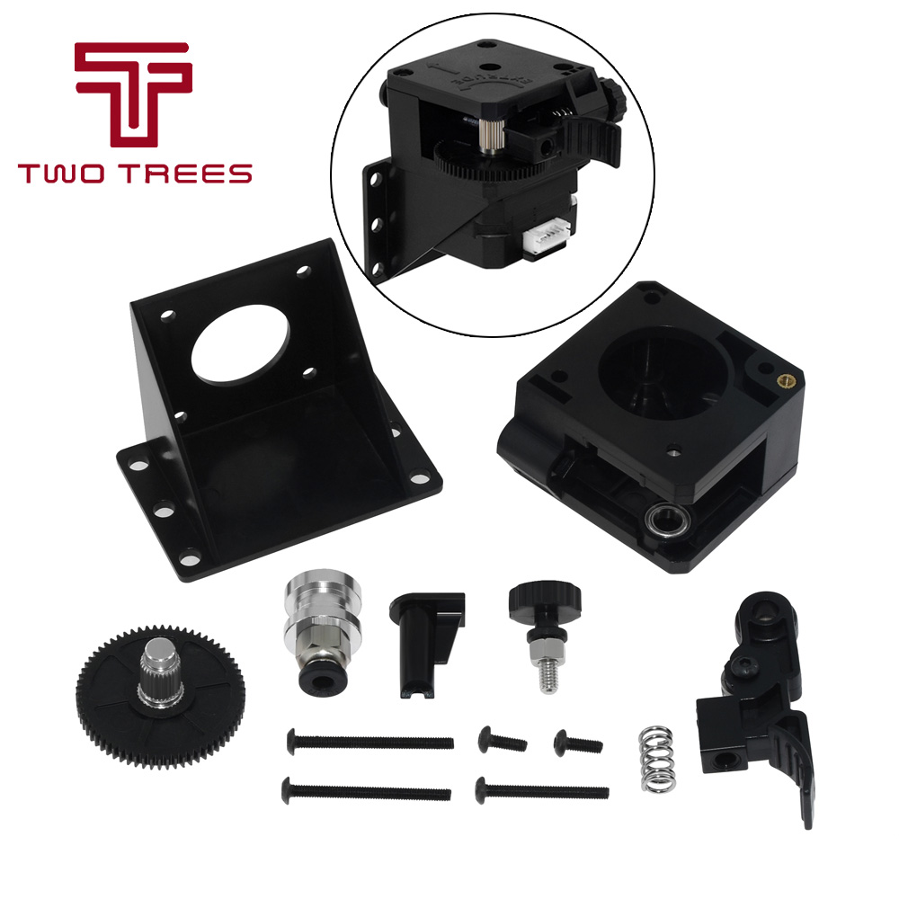 Usongshine 3D Printer Titan extruder nema 17 Extruder Complete Kit with NEMA Stepper Motor for 3D Printer Support Both Direct Drive and Bowden Mounting Bracket