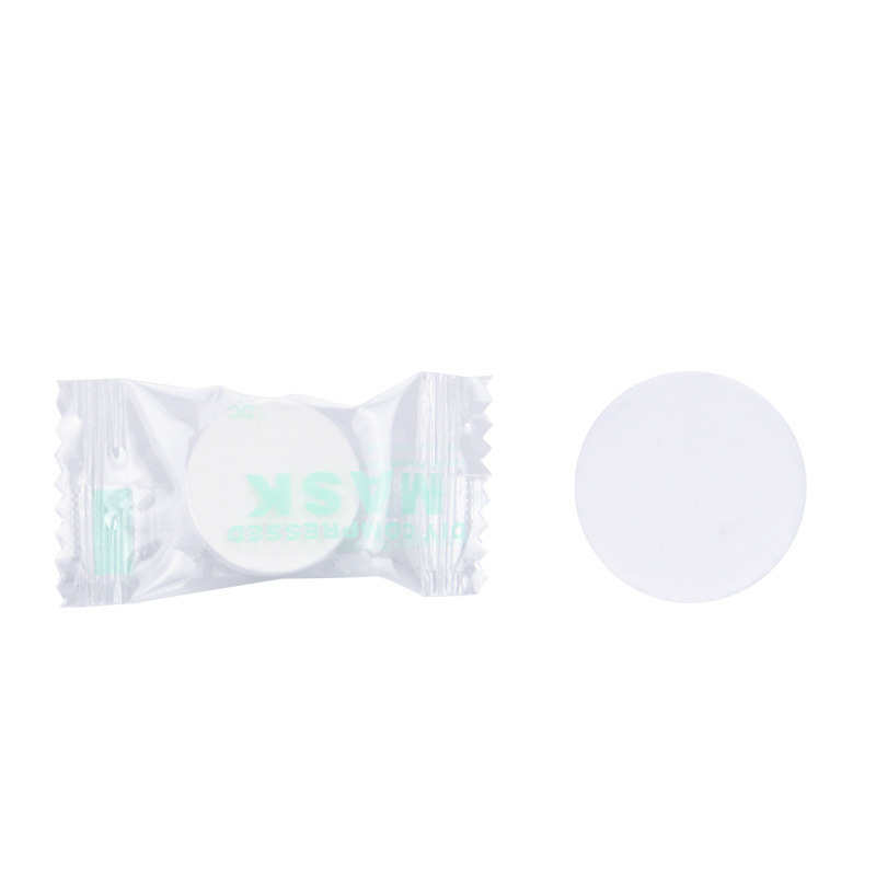 20 tablets Disposable Cotton Facial Masks Papers For Skin Care  3