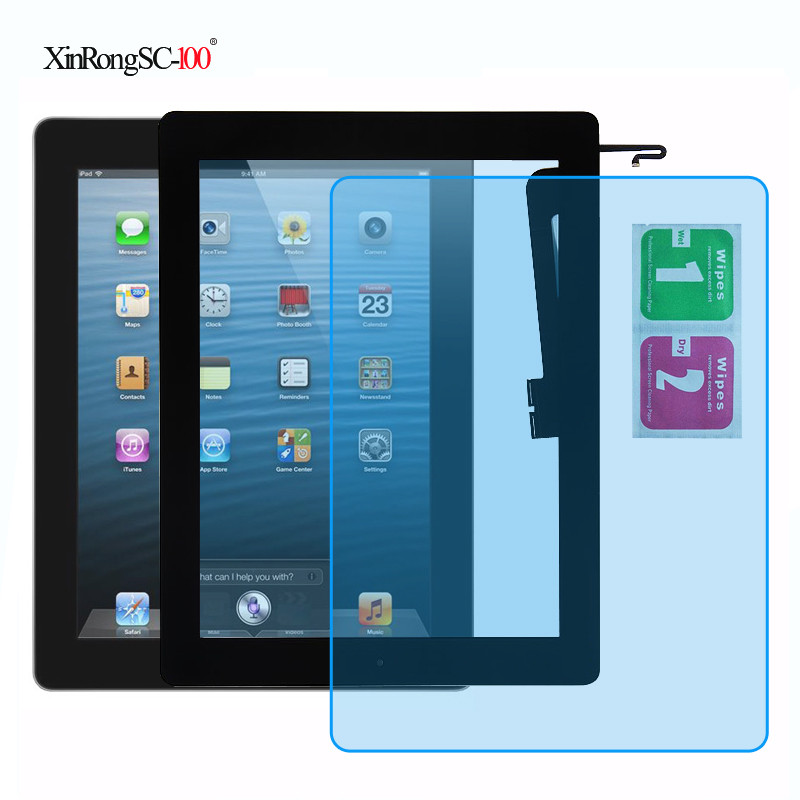 Touch Screen Digitizer For ipad A1403 A1416 A1430 A1458 A1459 A1460 /& 2mm Tape