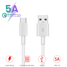 5A Quick Charge 3.0 USB Type C Cable for